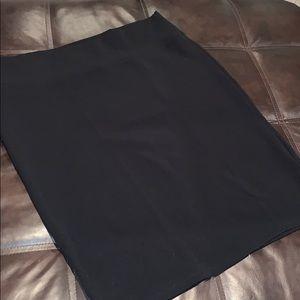 LuLaRoe Solid Black Cassie Pencil Skirt